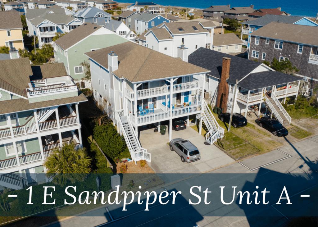 1 E Sandpiper Street Unit A, Wrightsville Beach NC 28480